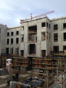 05.12.2015 Baustellenbesichtigung Portal