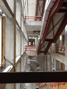 05.12.2015 Baustellenbesichtigung - Treppenhaus