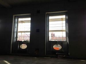 05.12.2015 Baustellenbesichtigung mit runden Durchblicken