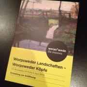 14.11.2015 Vernissage Worpsweder Landschaften - Worpsweder Köpfe