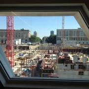 06.09.2013 Berlin Humboldtbox und Schlossbaustelle 1