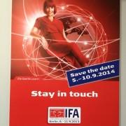 09.09.2013 IFA Berlin Banner